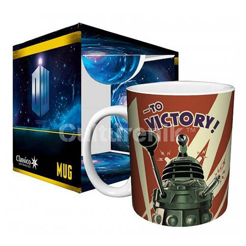 Doctor Who Dalek to Victory 11 oz. Mug
