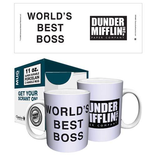 The Office Dunder Mifflin World S Best Boss 11 Oz Mug