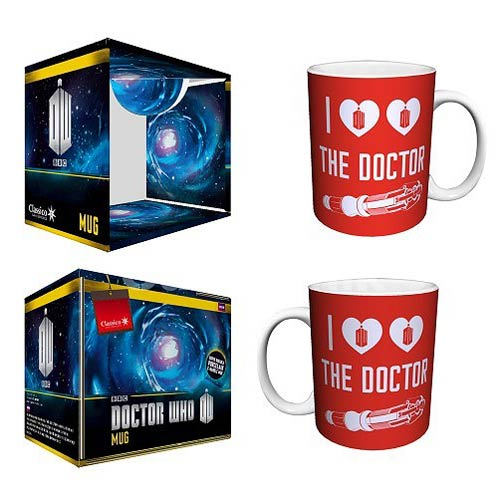 Doctor Who I Heart the Doctor Red 11 oz. Mug