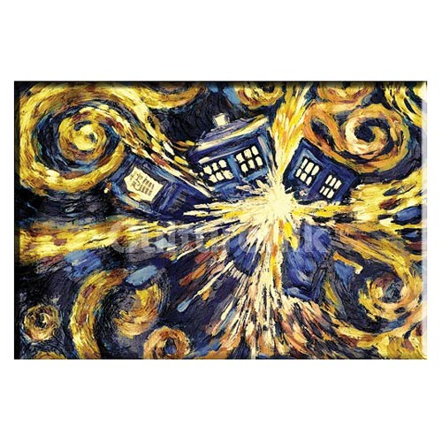 Doctor Who Exploding TARDIS 3-Inch Magnet