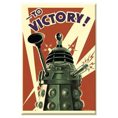 Doctor Who Dalek to Victory 3-Inch Magnet