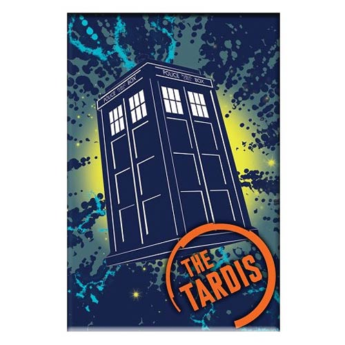 Doctor Who The TARDIS 3-Inch Magnet