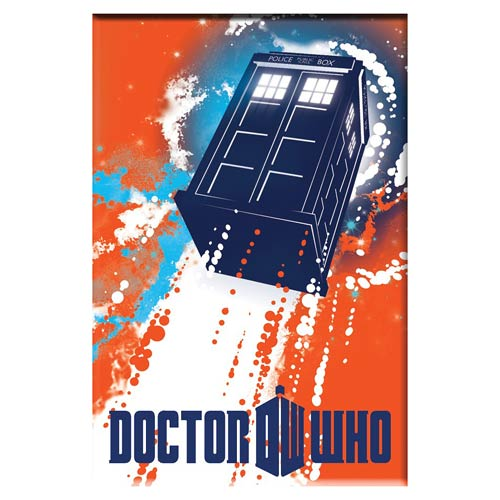 Doctor Who TARDIS Taking Off 3-Inch Magnet