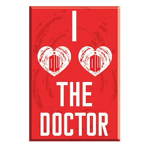 Doctor Who I Heart The Doctor 3-Inch Magnet
