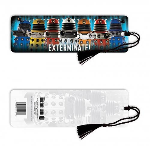 Doctor Who Daleks Exterminate! Bookmark