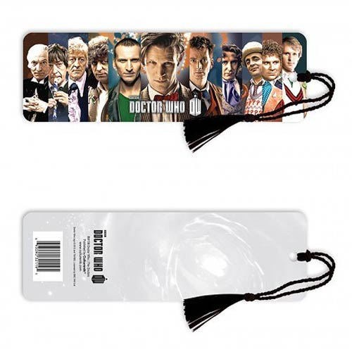 Doctor Who The Doctors Bookmark