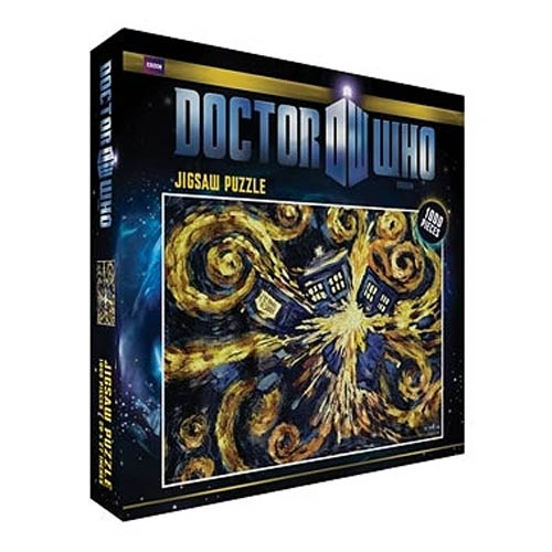 Doctor Who Exploding TARDIS Jigsaw Puzzle