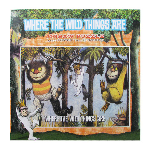 Where the Wild Things Are Hanging From Trees Jigsaw Puzzle