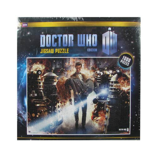 Doctor Who Flames Jigsaw Puzzle