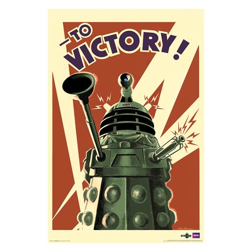 Doctor Who Dalek to Victory Standard Poster