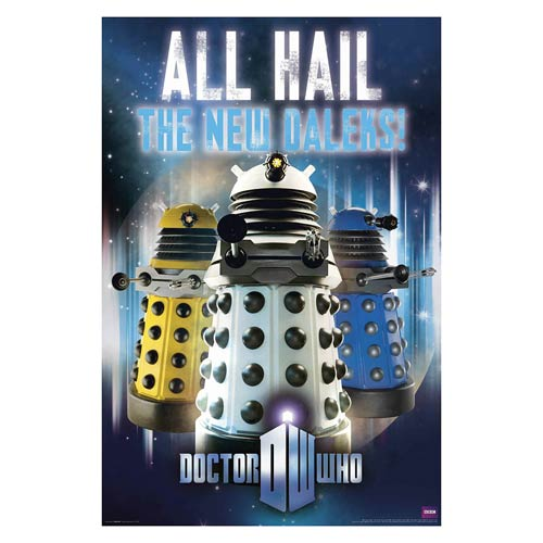Doctor Who All Hail the New Daleks Standard Poster
