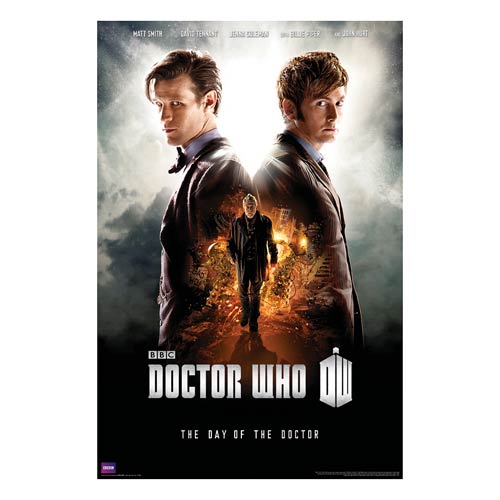 Doctor Who The Day of The Doctor Standard Poster