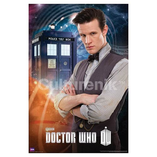 Doctor Who Matt Smith Eleventh Doctor Standard Poster