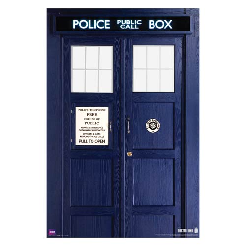 Doctor Who Eleventh Doctor TARDIS Standard Poster