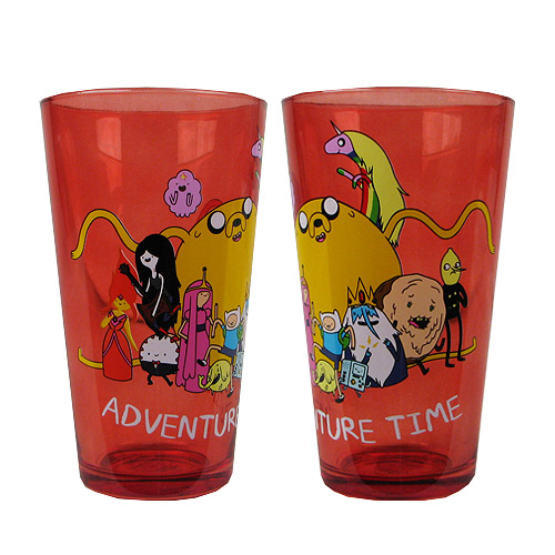 Adventure Time Group Pint Glass