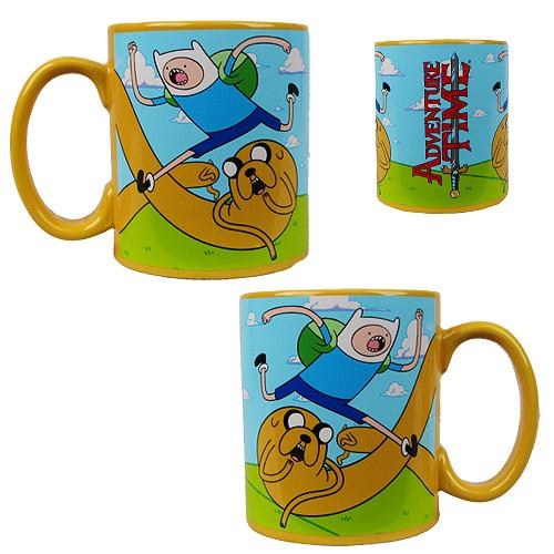Adventure Time 20 oz. Mug with Jake Handle