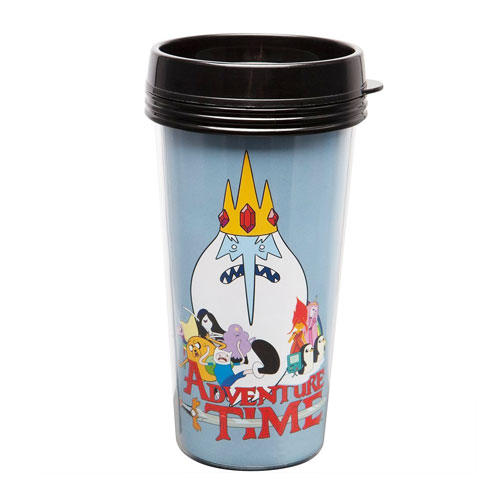 Adventure Time Gang Travel Mug