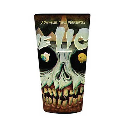 Adventure Time The Lich King's Face Pint Glass