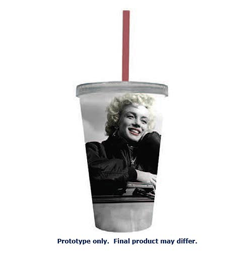 Marilyn Monroe Happy 16 oz. Acrylic Travel Cup