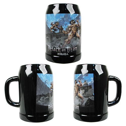 Attack on Titan Eren Yeager Titan 25 oz. Beer Mug