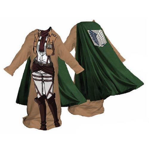 Attack on Titan Survey Corps Female Snuggler Blanket