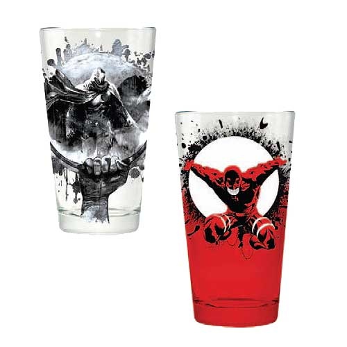Marvel Daredevil & Moon Knight Pint Glass 2-Pack
