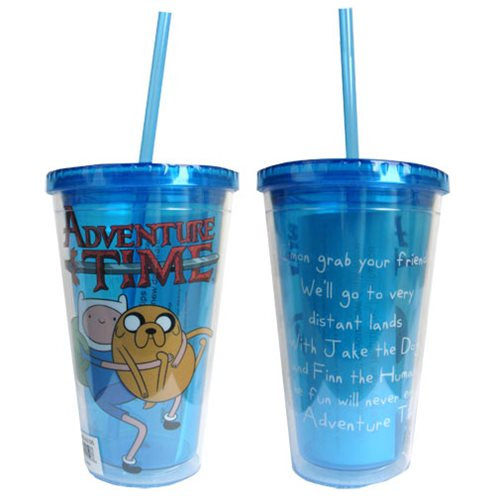Adventure Time Intro Song Travel Cup