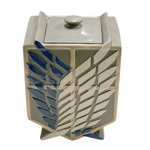 Attack on Titan Scouting Corps Cookie Jar