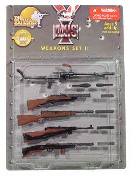 Axis Weapons Set II