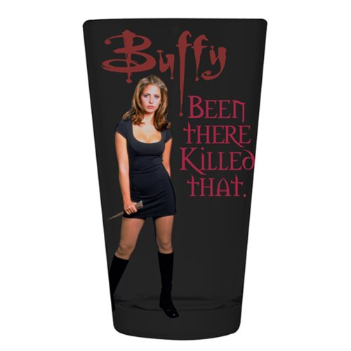 Buffy the Vampire Slayer Been There Pint Glass