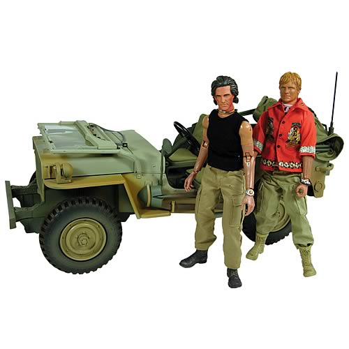 Sahara Willys Jeep with Action Figures