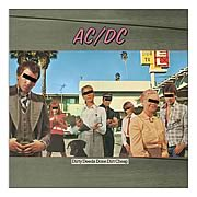 AC/DC Dirty Deeds Canvas Print