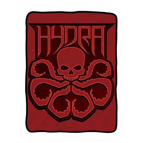 Agents of SHIELD Hydra Fleece Throw Blanket