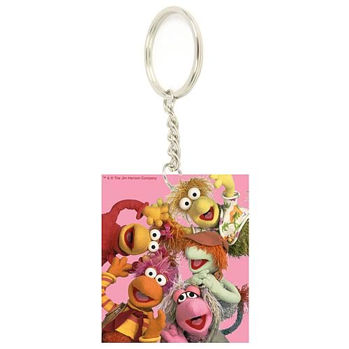 Fraggle Rock Group Key Chain