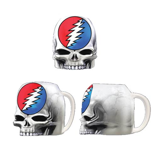 Grateful Dead Steal Your Face Molded 16 oz. Mug