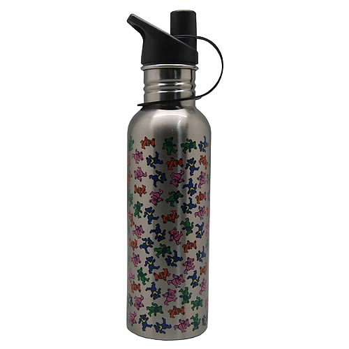 Grateful Dead Dancing Bear Water Bottle