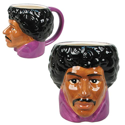 Jimi Hendrix Face Molded 16 oz. Mug