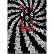KISS Faces Fleece Blanket with Sleeves