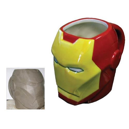 Iron Man Marvel Molded 16 oz. Mug