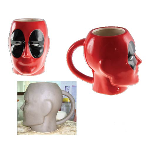 Deadpool Marvel Molded 16 oz. Mug