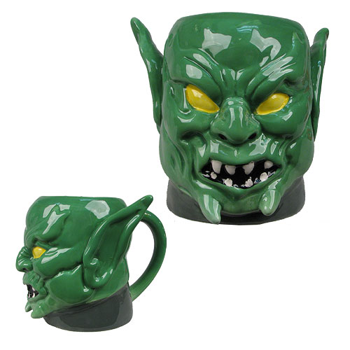 Spider-Man Green Goblin Marvel Molded 16 oz. Mug