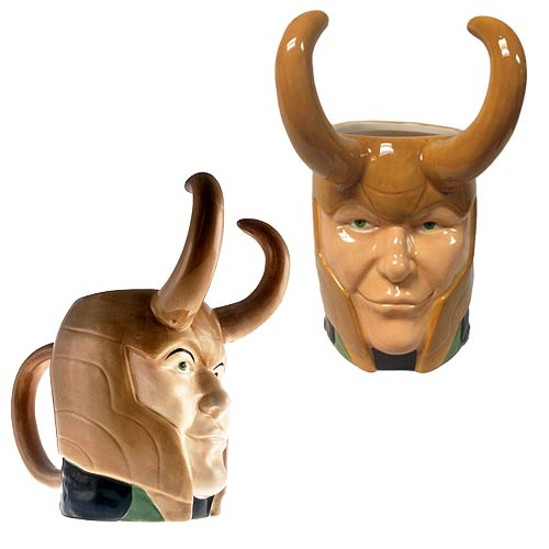 Thor Loki Marvel Molded 16 oz. Mug