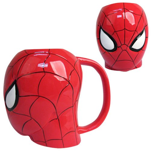 Spider-Man Marvel Molded 16 oz. Mug