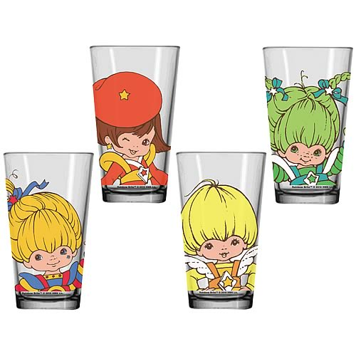 Rainbow Brite Glass Tumbler 4-Pack