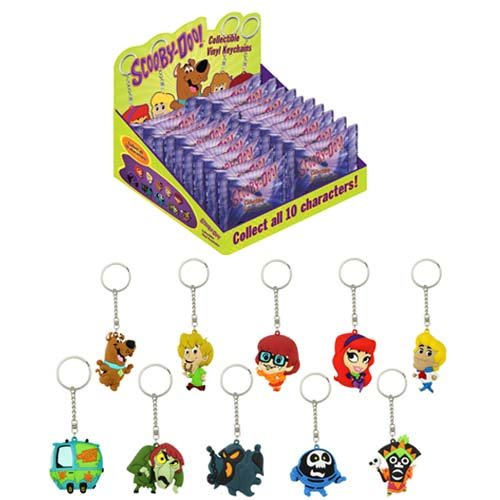Scooby-Doo Vinyl Key Chain Display Case