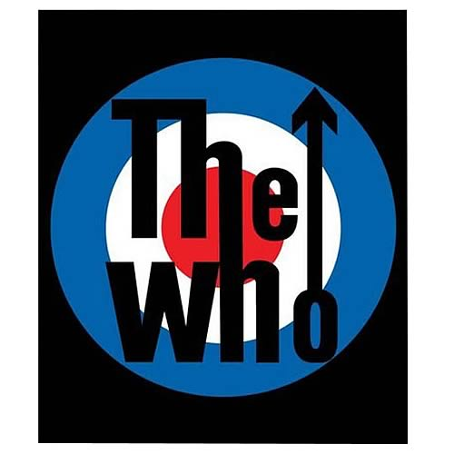 The Who Micro Raschel Fleece Blanket