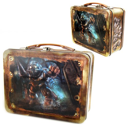 Bioshock Big Daddy Tin Tote