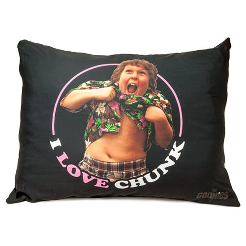 The Goonies I Love Chunk Truffle Shuffle Pillow Case