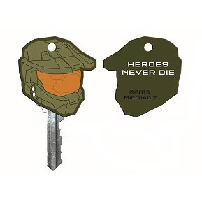 Halo 4 Master Chief Helmet Keycap Key Cover