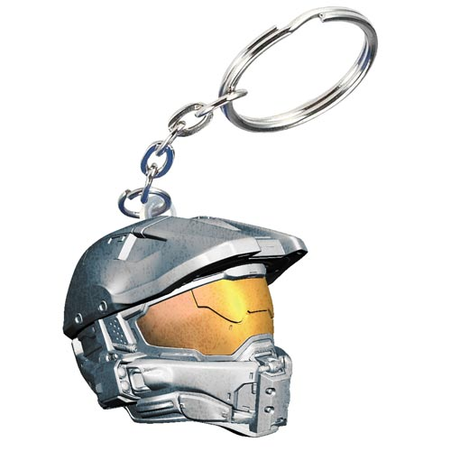 Halo 4 Deluxe Master Chief Helmet Key Chain